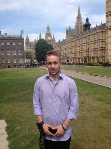 Dominic at Westminster